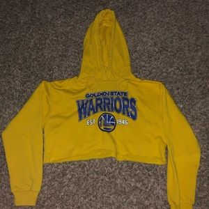 Crop hoodie of the golden state warriors 🔥
